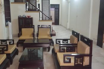 Cho thuê nhà phố Nguyễn Văn Trỗi, Giải Phóng, Thanh Xuân 81m2x4T 5PN - ô tô đỗ cửa, ảnh thật