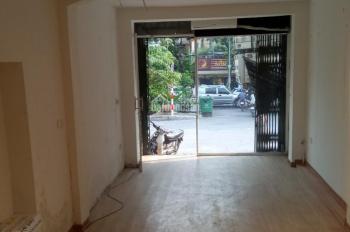 Cho thuê mặt bằng KD 33m2 mặt phố Thái Hà, Đống Đa, giá 13 tr/th (có TL)