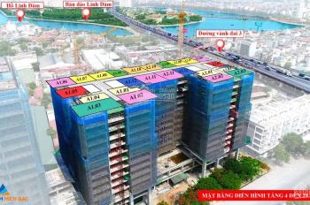 Quỹ căn 2PN 52m2,57m2,60m2 giá tốt nhất dự án Green Park Trần Thủ Độ, trực tiếp CĐT CK 4,5% HTLS 0%
