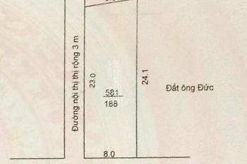 Bán đất tại khối 10, thị trấn Xuân An, Nghi Xuân, diện tích là 188m2