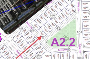 Chính chủ bán gấp lô đất biệt thự Thanh Hà khu A2.2 lô góc xịn nhìn vườn hoa, bán đến ngày 6/7/2020
