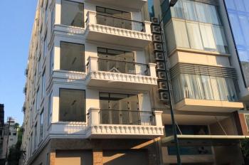 Cho thuê nhà Nguyễn Tri Phương, Quận 10, DT 5.5x15m 6 tầng mới xây KD VP cty, anh ngữ. Giá: 90tr/th