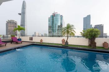 Bán hotel Nguyễn Thái Học DT: 4.5x19m, hầm 5 tầng 15 phòng, giá 57 tỷ
