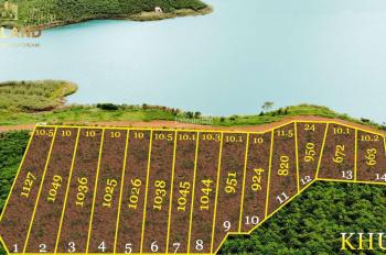 Đất nghỉ dưỡng view trực diện hồ Daklong - Bảo Lâm - Bảo Lộc, giá chỉ 780 triệu/nền, LH 0935381382