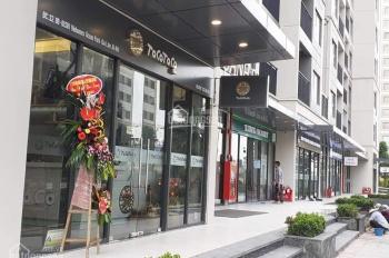 Cho thuê shophouse chân đế Vinhomes Smart City, miễn phí 1 tháng tiền thuê, xem ngay