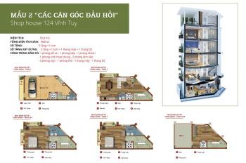 Cho thuê nhà nguyên căn 5,5 tầng ngõ 124 Vĩnh Tuy, quận Hai Bà Trưng. Nội thất cơ bản, giá 35 triệu