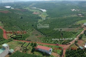 Bán đất Đambri - Bảo Lộc - Lâm Đồng 250tr 1 lô view hồ 10ha