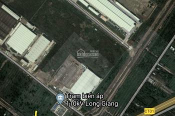 Bán đất 8,7x52m, ngay cổng sau KCN Long Giang