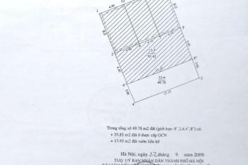 Bán nhà 5 tầng đẹp phố kinh doanh 172/89 Âu Cơ, DT 49.78m2, giá 7 tỷ 5 có TL. LH 0973452986