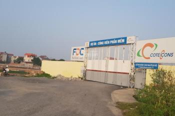 Bán đất đấu giá cạnh khu công viên phần mềm Đông Anh của tập đoàn Vingroup tại xã Nguyên Khê