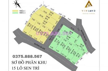 Mở bán 50 lô đất nền trung tâm xã Bình Yên từ 600tr - cạnh chợ, trường học, bệnh viện 0375888567