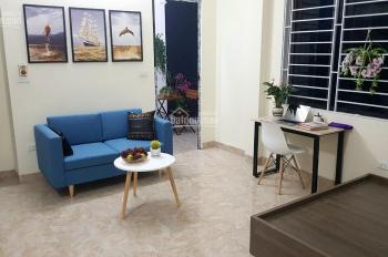 Cho thuê chung cư mini ngõ 43 Cổ Nhuế full đồ như hình, thang máy