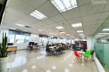 Cho thuê gấp 230m2 sàn VP mặt phố Trần Vỹ. MT 20m nhà mới phù hợp KDVP giá thuê: 40 triệu/tháng