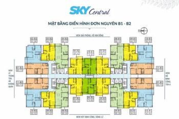 Cô Thanh bán gấp căn 803 tòa B1, DT 64.7m2, CC Sky Central, 176 Định Công, giá 26tr/m2. 0971866612
