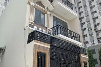 Bán căn nhà 1 trệt 2 lầu DT 63m2, giá 5,6 tỷ cách Nguyễn Duy Trinh 50m, phường Bình Trưng Tây Q2