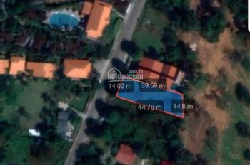 Đất xây biệt thự 590m2 mặt tiền Dinh Bà Ông Lang, 100m2 thổ cư, cách biển 200m
