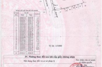 Cần bán lô đất mặt tiền đường Lê Thị Hà, Hóc Môn, đoạn dân cư sầm uất