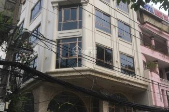 Cho thuê nhà góc 2MT đường Ngô Quyền, phường 5, Quận 10, 8x20m, hầm 4 lầu. Khu kinh doanh sầm uất