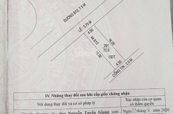 Bán nền đẹp đường B12 KDC Hưng Phú 1, phường Hưng Phú, quận Cái Răng, tp Cần Thơ