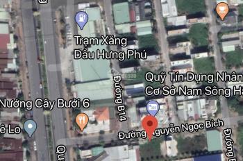 Bán cặp nền đường Nguyễn Ngọc Bích (B13), KDC Hưng Phú 1