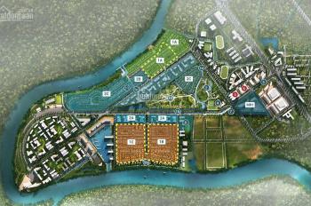 Bán đất thổ cư Bến Lức ngay dự án Waterpoint Nam Long, 100m2, 2 mặt tiền đường. 0765777785