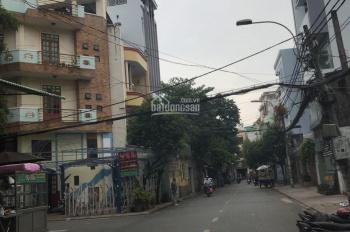 Cho thuê nhà MT đường Nguyễn Minh Hoàng, P. 12, Tân Bình. Diện tích: 6,4x17m 1 hầm 1 trệt lửng 3L