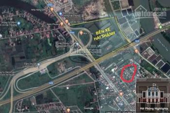 Bán đất lô góc 95m2, Hải Thành, Dương Kinh 13tr/m2