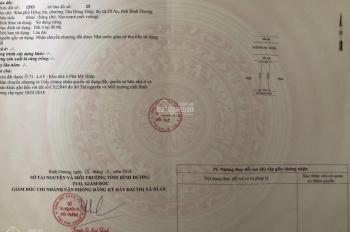 Đất Dĩ An dự án Hoàng Hùng, khu dân cư Phú Mỹ Hiệp 60 m2, giá 1.86 tỷ, LH 0938893936