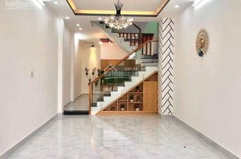 Cho thuê nhà mới 1 trệt 1 lầu trục chính hẻm 98 đường Trần Hưng Đạo, giá dưới 5 triệu