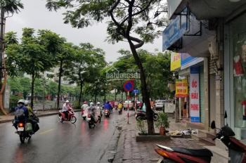 Cho thuê mặt bằng tầng 1 phố Vũ Tông Phan, 50m2 có vỉa hè. Giá 8 triệu/tháng