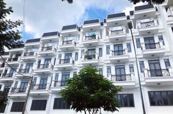 Nhà phố An Lộc cuối đường Nguyễn Oanh, 1 trệt 3 lầu, bàn giao hoàn thiện trong ngoài LH 0916 849679