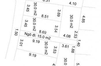 Bán 5 căn nhà tại Yên Lũng - An Khánh giá chỉ từ 1,5 tỷ, sổ đỏ
