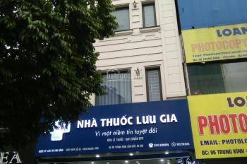 Cho thuê toà nhà 6 tầng, DT 80m2 MP Trần Duy Hưng, thiết kế thông sàn, tiện kinh doanh, giá 74tr/th
