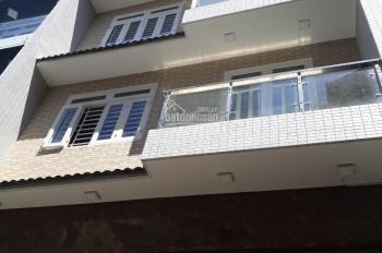 Cho thuê nhà đường Bình Giã quận Tân Bình diện tích 7x25m 1 hầm 1 trệt 2 lầu nhà mới