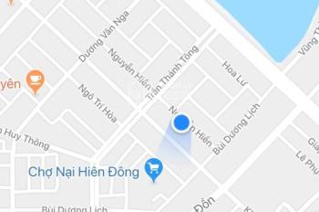 Đất tặng nhà cấp 4 Nguyễn Hiền, Sơn Trà, 72m2, 3.29 tỷ TL