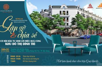 Đất nền sổ đỏ khu đô thị 299 Dĩnh Trì thành phố Bắc Giang