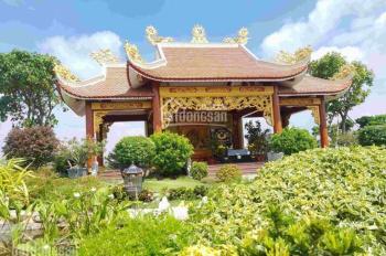 Bán đất Hoa Viên Nghĩa Trang, đối diện sân bay QT Long Thành, mộ đơn 117tr (5,5m2), gốc CĐT