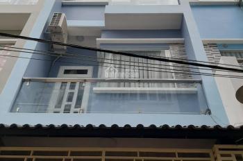 Bán nhà 4x13m, 3 lầu, ST, hẻm xe hơi Bùi Minh Trực, P. 6, Q. 8, LH 0901364736