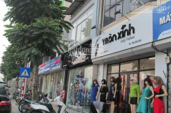 Cho thuê shop MP Lê Văn Lương, DT 300m2, MT 20m, giá tốt, vị trí đẹp, nhà mới