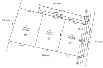 Kẹt tiền bán gấp 3300m2 đất An Phước, Châu Thành, cạnh KCN Giao Long, 4 sổ riêng có thổ cư