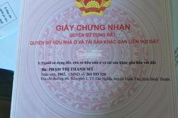 Chia tài sản cần bán gấp đất 2MT sát Tỉnh lộ 44A, thị trấn Long Điền, Bà Rịa - VT, DT: 5*27.5m