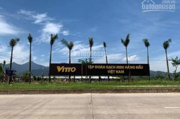 Chính chủ cần bán gấp lô đất KD đối diện khu nhà máy gạch Vitto - KCN Tam Dương 2 - Kim Long