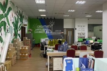 Cho thuê 405m2 sàn văn phòng tòa Hòa Bình Green City tại 505 Minh Khai, gần Times City