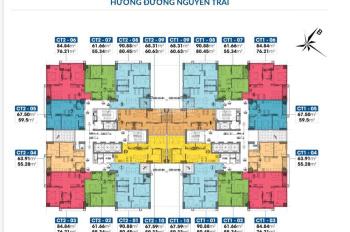 Suất ngoại giao căn hộ chung cư 2PN - 3PN giá tốt chung cư PCC1 44 Triều Khúc