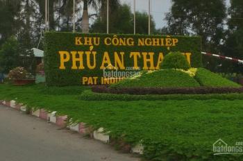 Sang nhượng đất nền dự án khu công nghiệp Phú An Thạnh (Western City), giá rẻ đầu tư, sổ hồng