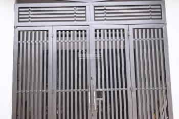 Nhà 1 trệt 1 lửng hẻm xe hơi Tân Thới Hiệp, gần bệnh viện Q12. LH 0979524762