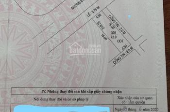 Bán 2 nền mương hở hông 2m, hở sau 2m KDC Hưng Phú đường B12, sổ hồng