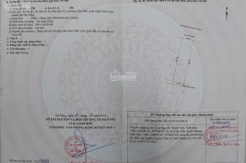 Chính chủ gửi bán lô đất khu đô thị Phú Mỹ An, TP Đà Nẵng