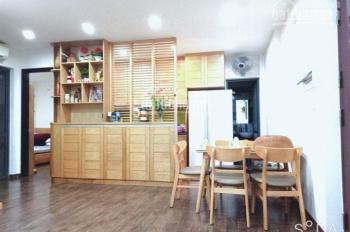 Tòa Nam Rice City, Tây Nam Linh Đàm, căn hộ 62,5 m2, 2 phòng ngủ, ban công Đông Nam