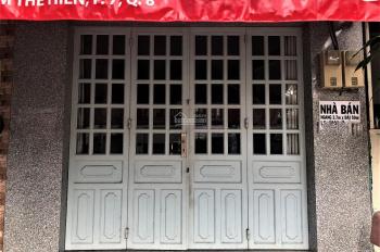 Tôi chính chủ bán gấp căn nhà mặt tiền Phạm Thế Hiển, đã hoàn công đầy đủ, SHR, LH: 0777916893